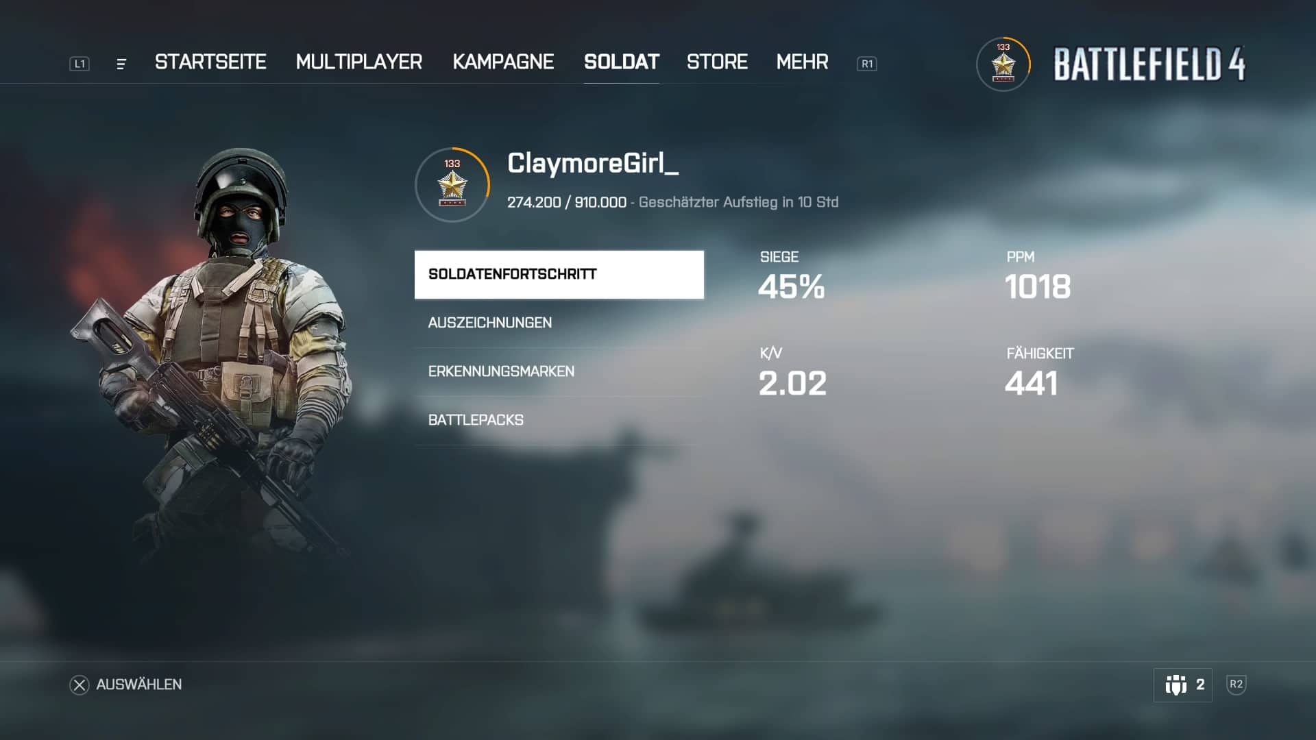 Battlefield 4 - ClaymoreGirl_